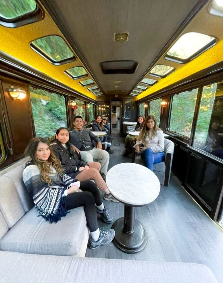 Machu Picchu en tren